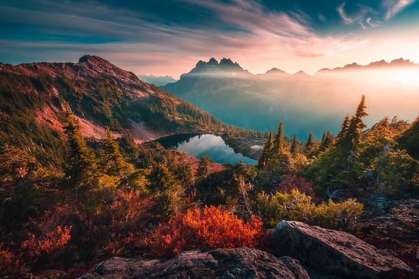 Autumn in the Alpine