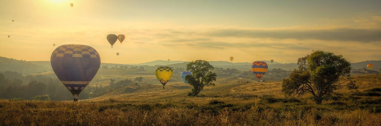 Molonglo Balloon Landing
