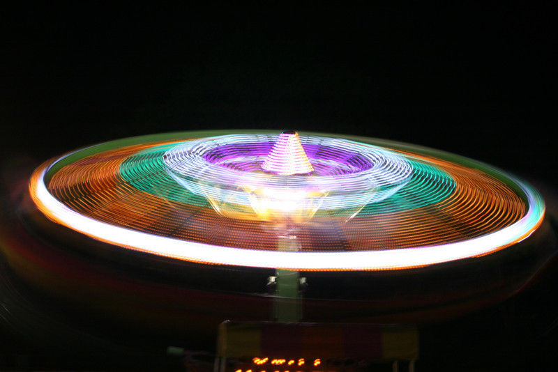 Carnival Ride at Night