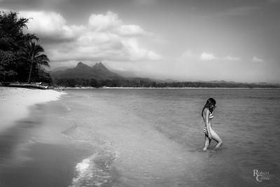 Windward Wahine Monochrome