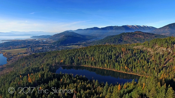Antelope Lake looking into Clark Fork