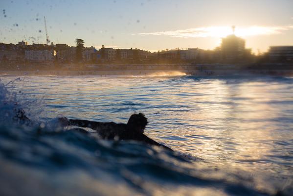 Sunset Paddle Splash