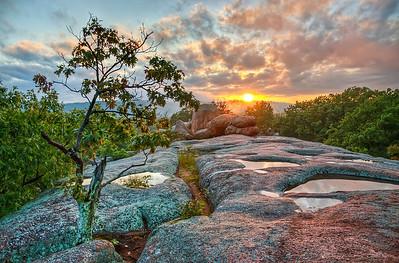 'Pachyderm Sunset' ~ Elephant Rocks State Park, MO