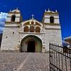Church - Chivay Peru - Colour
