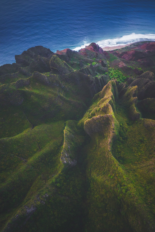 Na Pali Coast Aerial