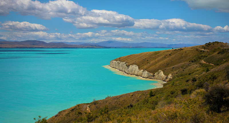 The Impossible Blues of Lake Tekapo