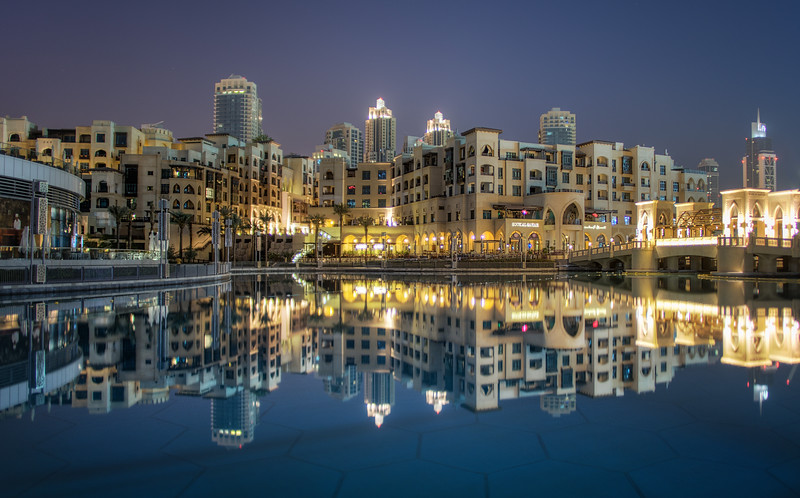 Exploring the Reflections of Dubai