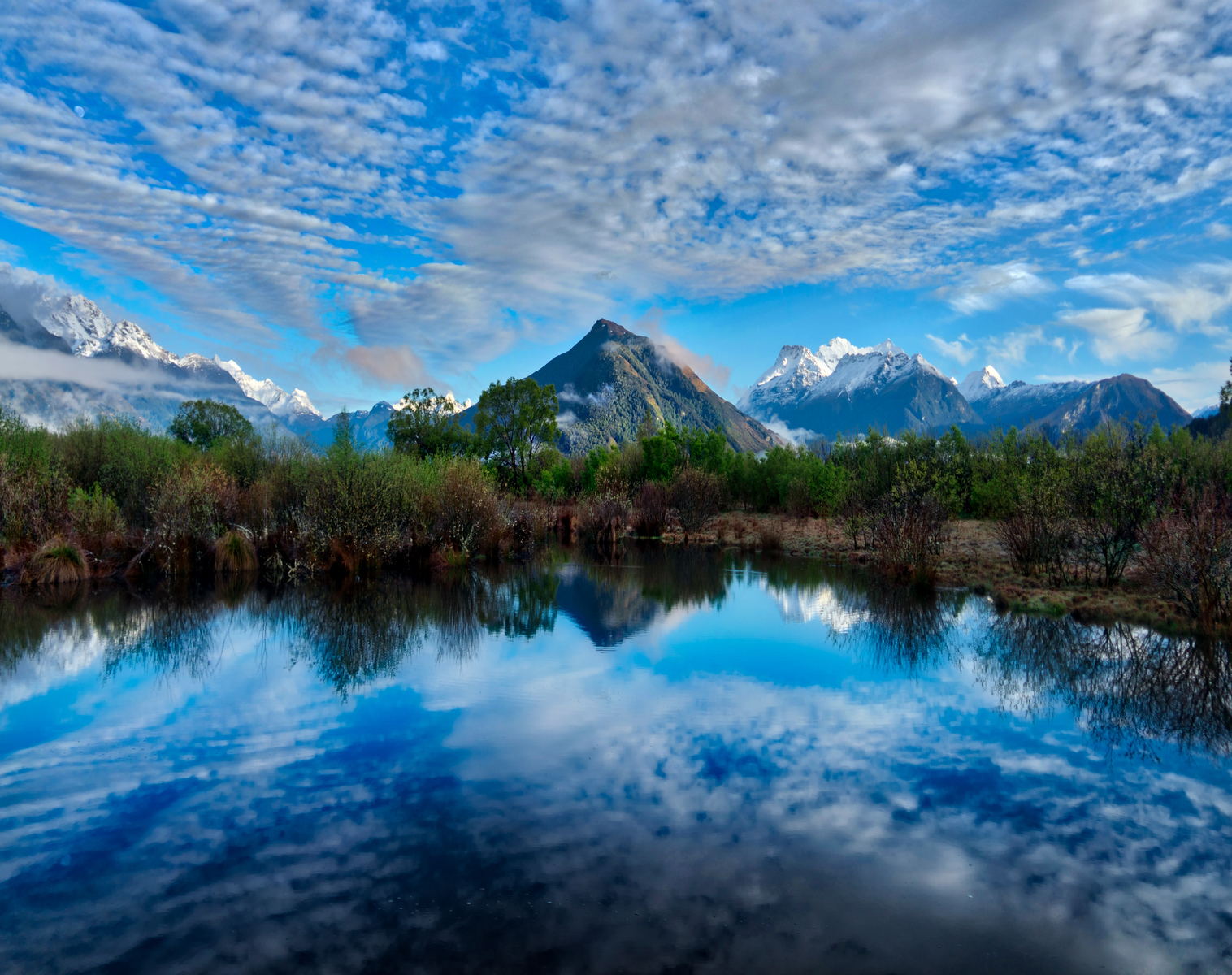 A peaceful morning in Glenorchy