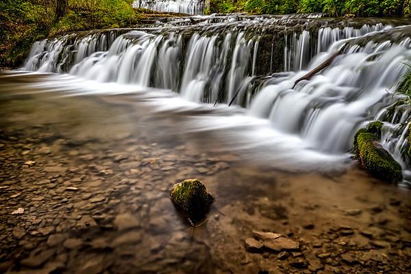 Chain of waterfalls