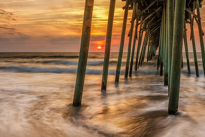 Sunrise, Kure Beach Pier