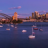 The Sydney Skyline at dusk