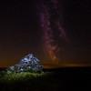 Rocks under the Milky Way