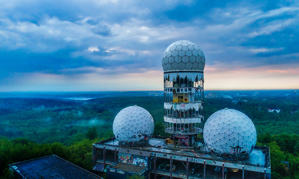 Tuefelsberg, The Devil's Mountain, The Cold-War Listening Station
