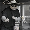 """Tamale Spaceship""<br /> <br /> Daily Photos  -  December 8, 2011<br /> <br /> What better to accompany my recent street photography postings than a shot of some ""Street Food!"" The proprietors of this local Chicago food truck called the Tamale Spaceship wear these awesome Mexican wrestling masks while dishing up some seriously tasty tamales. Can it get any better that this?"