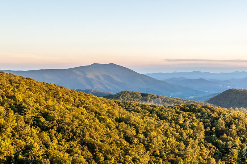 Sunset in Great Smoky Mountain National Park