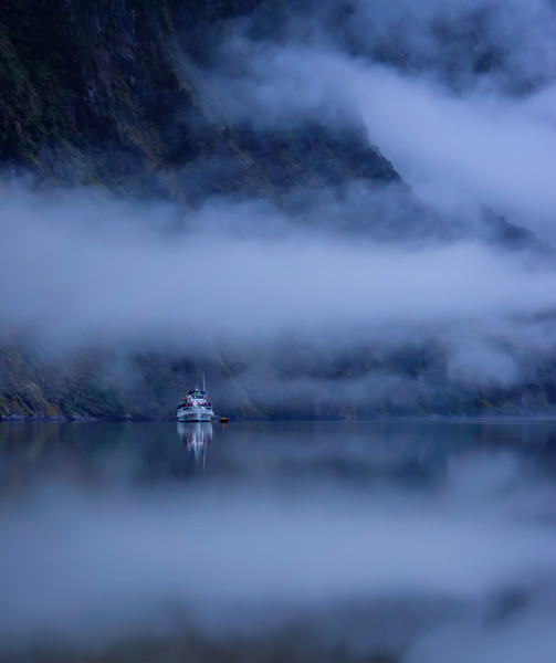 """<h2>The Car Trip - Fog in Slow Motion</h2> <br/>A few days ago, I posted a grouping of three photos from the car trip, so here are three more for you! Also, maybe you saw some of these in the new video that launched yesterday… so here they are a bit bigger and whatnot!<br/><br/>I woke up early in the morning to visit the sound to see what was happening. Everything seemed in slow motion while the fog slowly wafted across the water…<br/><br/>- Trey Ratcliff<br/><br/><a href=""""http://www.stuckincustoms.com/2012/11/04/more-from-the-new-zealand-car-trip/"""" rel=""""nofollow"""">Click here to read the rest of this post at the Stuck in Customs blog.</a>"""