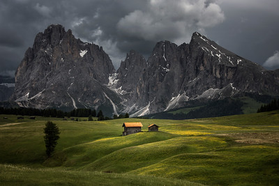 Alpi di Siusi light play