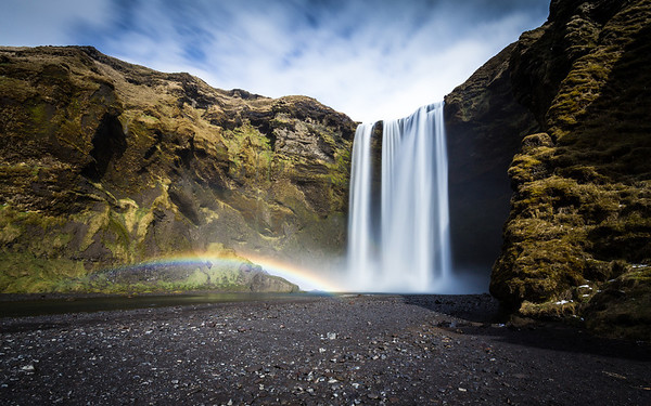 Skogafoss Colour