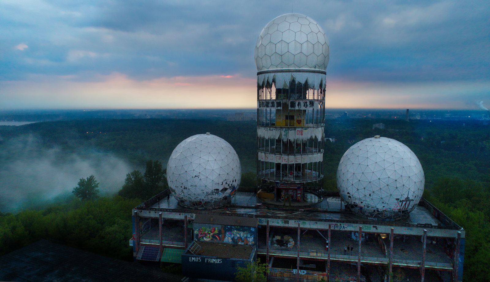 Cold War Listening Station Near Berlin