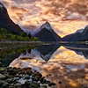 Mitre Peak at Milford Sound