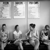 "<h2>Six Girls in New Zealand Getting Meat</h2> <br/>While on a long drive from the Coromandel to Matamata (where The Shire is), we pulled into this pizza place to stock up on some much needed carbs.  I saw these six girls lined up so perfectly, I had to grab a quick shot.<br/><br/>Most places in New Zealand outside of the cities seem to shut down about 8 PM.  I had to start getting used to planning ahead to get dinner!  It's hard for me because I usually just go go go go until after sunset, taking photos like a madman... and THEN I think about dinner.   But that trick doesn't really work when you're on the road there...<br/><br/>- Trey Ratcliff<br/><br/><a href=""http://www.stuckincustoms.com/2010/03/25/silver-efex-pro-ne/"" rel=""nofollow"">Click here to read the rest of this post at the Stuck in Customs blog.</a>"