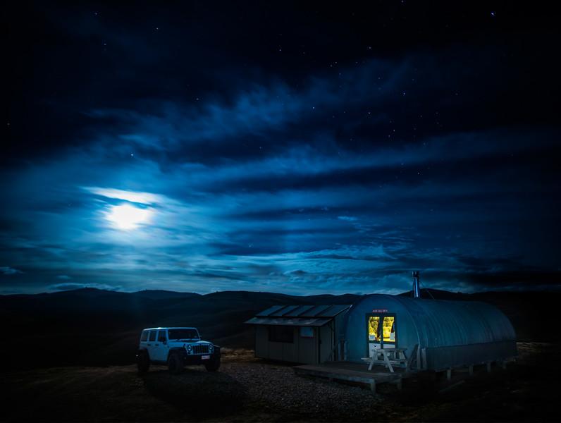 Overnight In The Hut
