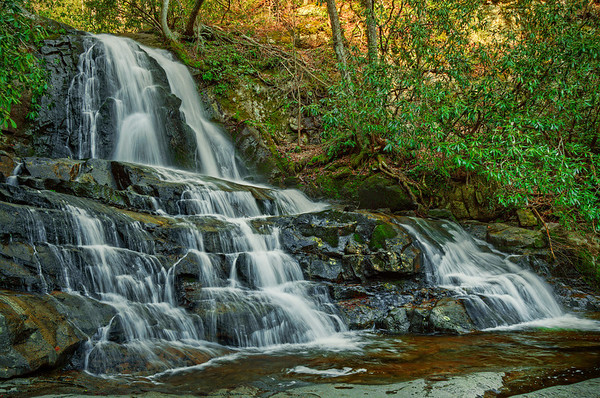 'Laurel Falls' ~ Great Smoky Mountains National Park, TN
