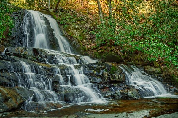 'Laurel Falls' ~ Great Smoky Mountains National Park, TN