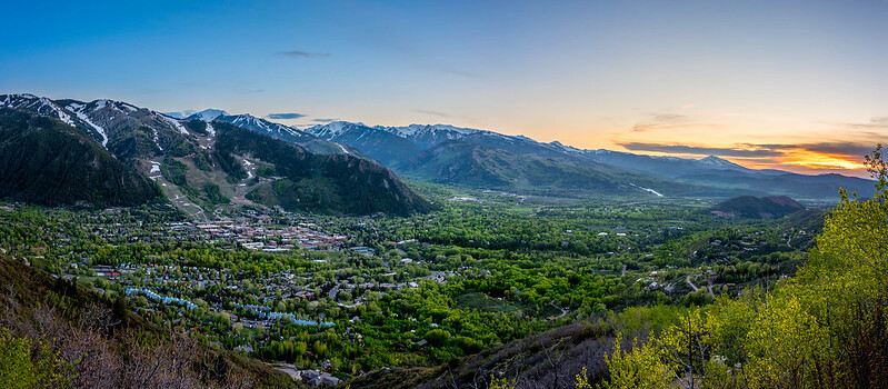 Aspen, Colorado Sunset
