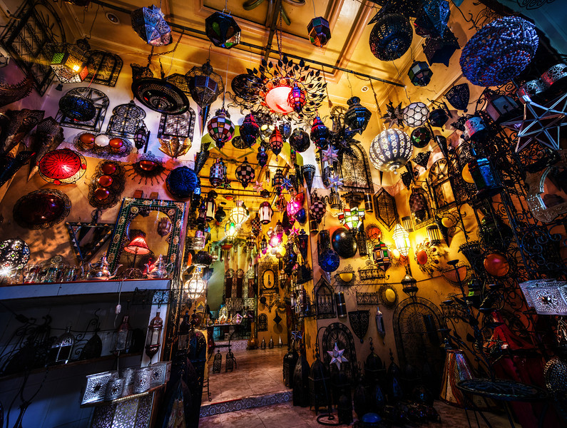 Lamp Shopping In Fes