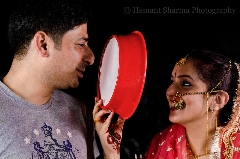Karva Chauth - Karva Chauth is an annual one-day festival celebrated by Hindu and some Sikh women in North India and parts of Pakistan in which married women fast from sunrise to moonrise for the safety and longevity of their husbands.