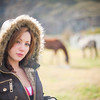 "<h2>Natalia on the Farm</h2> <br/>After getting back from one of those long hikes in Patagonia, I stayed with my Russian friends at a small hotel in El Chalten.  It was a little family-run operation and the daughter Natalia helped out by running errands and these sorts of things.  I took her around with me to take some photos in the little town, and she was happy to pose!  It was plenty easy to find all kinds of interesting backgrounds, since El Chalten is a picturesque little town with old buildings, horses in fields, and mountainous backdrops.<br/><br/> - Trey Ratcliff <br/><br/>Read more <a href=""http://www.stuckincustoms.com/2010/11/13/natalia-on-the-farm/"">here</a> at my travel photography blog, Stuck in Customs."