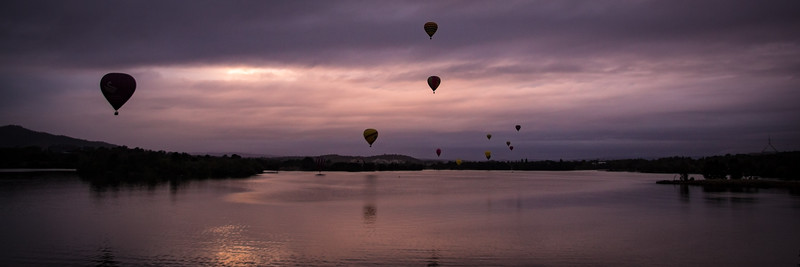 Moody Clouds Canberra Balloon Spectacular