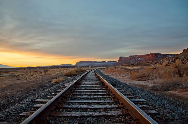 'On The Rails' ~ Rural Utah