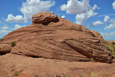 """""""Fossil"""" Sand Dune near Moab, Utah"""