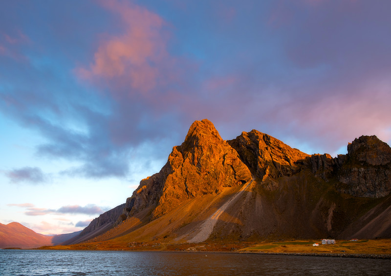 Sunrise on Eystrahorn