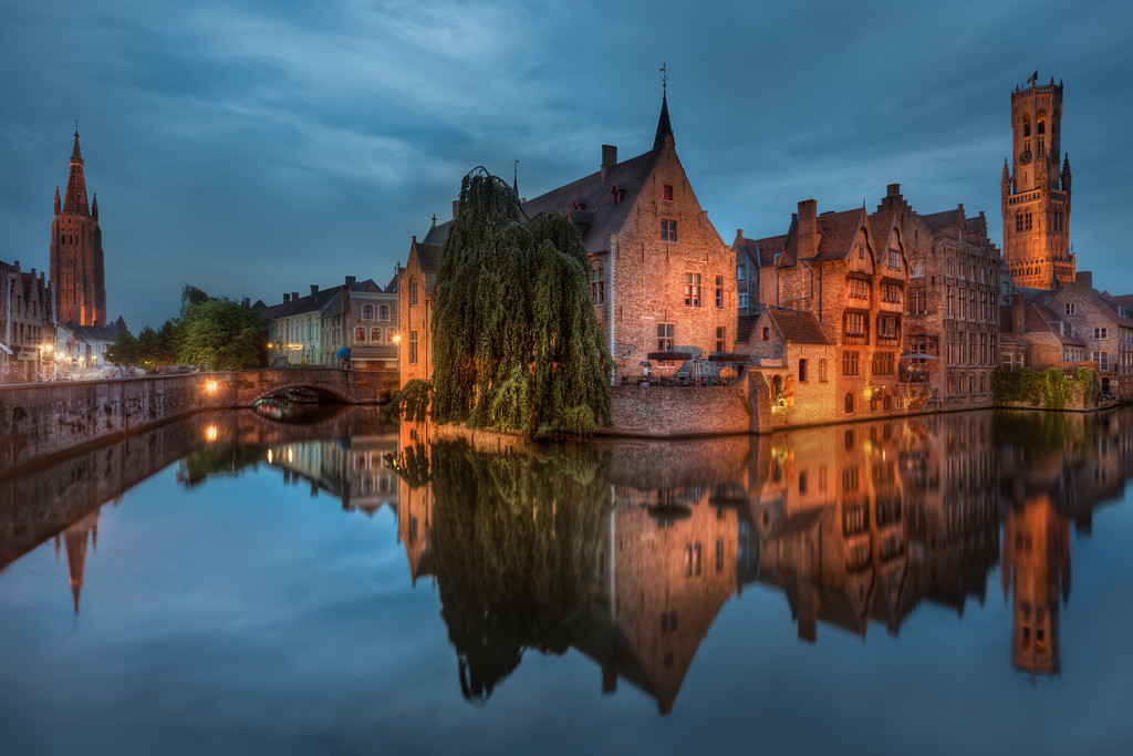 The Little Venice Corner in Bruges