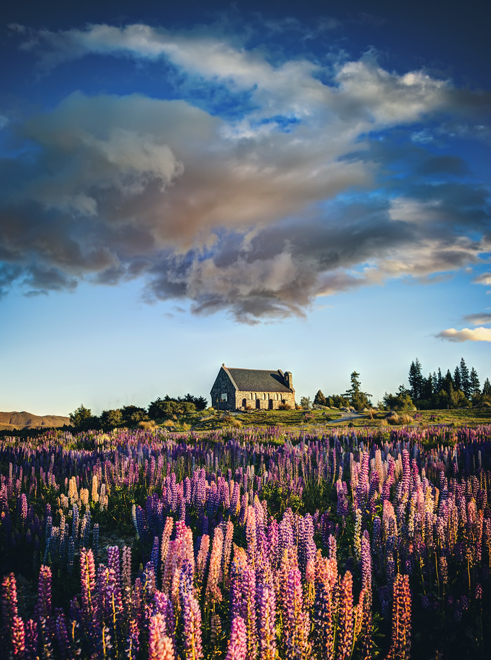 The Lupins Under Wormhole Clouds