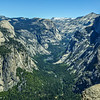 Half Dome & the Yosemite Valley