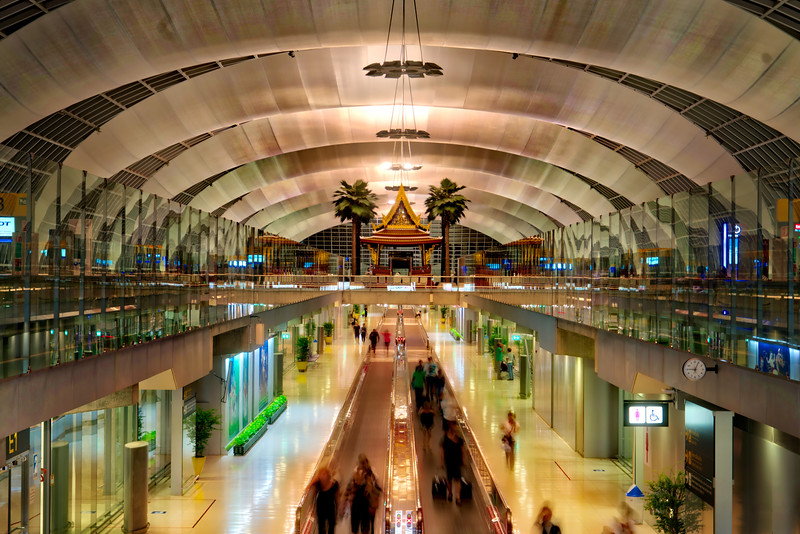 The Bangkok Airport
