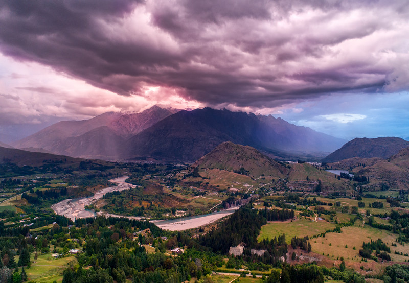 A Moody Storm in Queenstown