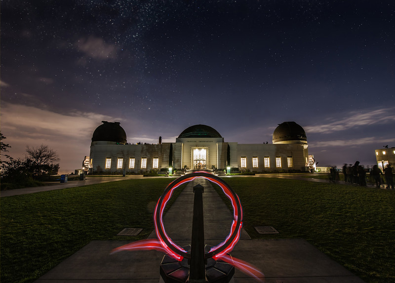 The Griffith ObservatoryThis was a very fun night in LA.I went up to the Griffith Observatory with Tom to grab a photo. I had always heard about this spot, but never made it up there to take photos of my own. The conditions are very difficult, and the parking was quite rough. After a long walk and deciding on a shot, I set up for what you see here…Maybe I'll have to go back here with my Genie! :)- Trey RatcliffClick here to read the entire post at the Stuck in Customs blog.