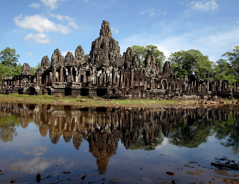 Siem Reap, Cambodia. Bayon Temple