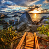 "<h2>The End of the Path</h2><br/>This is the very end of the long path from Toad Hall to the beach on Virgin Gorda. One thing this photo does not show is that there is about a 4-foot dropoff right below this path! It's no problem for a grownup to navigate, but it was a little logistical challenge to get three kids down there.<br/><br/>I took this path almost every day… for a little trip down to the beach to see what I could find…<br/><br/>- Trey Ratcliff<br/><br/><a href=""http://www.stuckincustoms.com/2012/08/01/amazing-time-with-the-new-class/"" rel=""nofollow"">Click here to read the whole post at the Stuck in Customs blog.</a>"