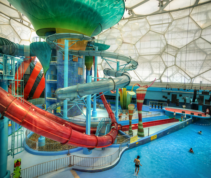 Inside The Chinese Megapolis Waterslide Utopia