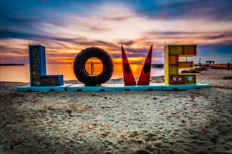 LOVE at Cape Charles