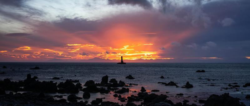 Sunset at Pariwhero Beacon