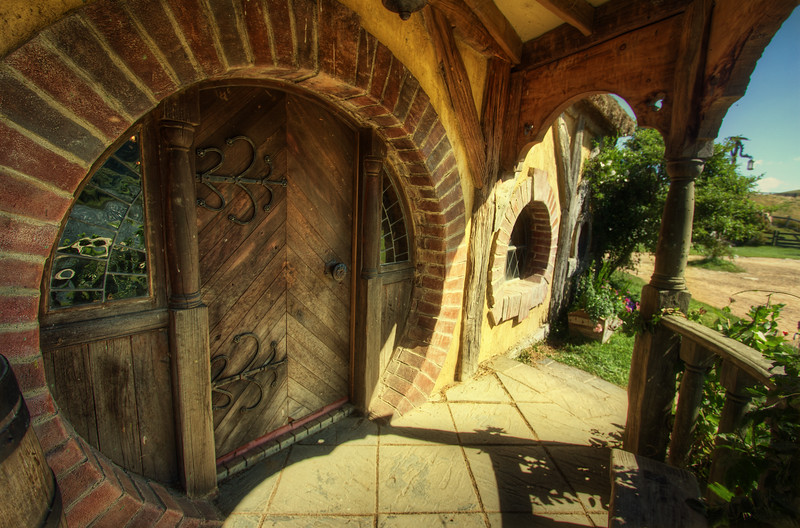 The Green Dragon Entrance