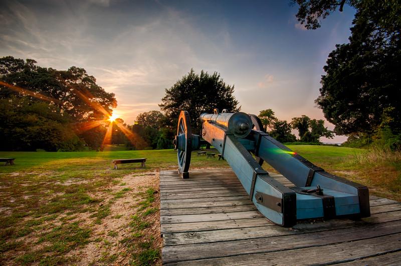 Yorktown Cannon - August 5