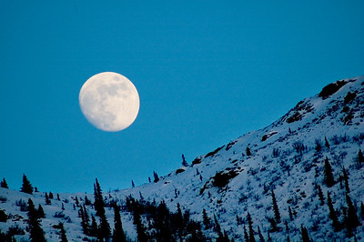 Moon #3 - Brooks Range Mountains, Alaska